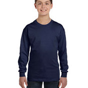 Youth 6.1 oz. Tagless® ComfortSoft® Long-Sleeve T-Shirt