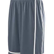 Youth Wicking Polyester Shorts with Mesh Inserts